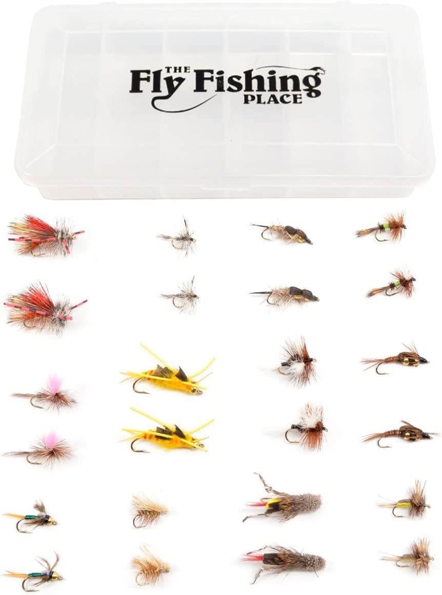 Western Trout Max 84% OFF Fly Virginia Beach Mall Assortment - Fishi Essential Dry and Nymph