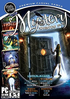 Mystery Adventure Pack (Hotel / Secret of Margrave Manor / Midnight Mysteries / Legend of Crystal Valley) - PC