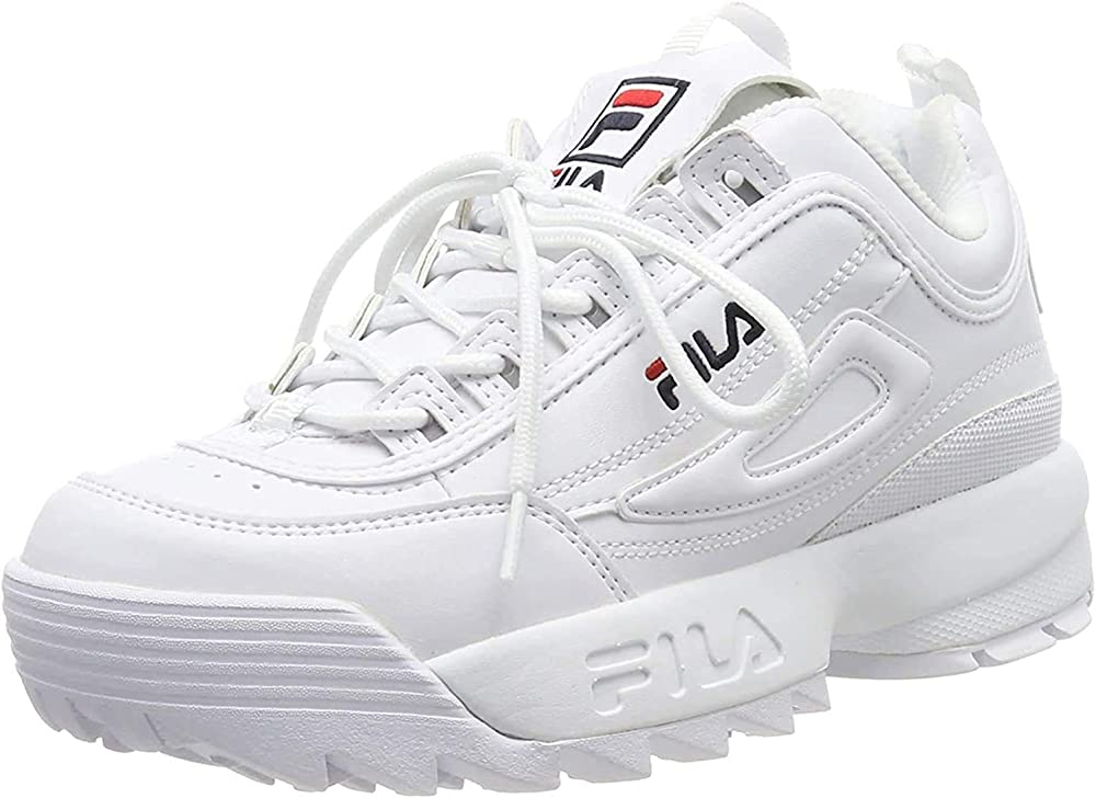 Fila scarpe sportive da donna sneaker disruptor low in pelle VF45FILA625