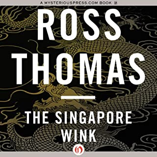 The Singapore Wink audiobook cover art