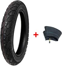 MMG Combo Electric Bike Tire Size 16x3.0 (80-305) fits on 12 Inches Rim Includes Inner Tube Compatible with E-Bikes, Scooters, Mopeds, Kids Bikes and Folding Bikes