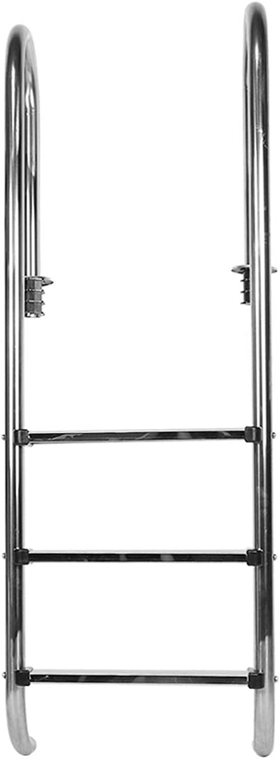 Stainless Steel Pool Ladder 3‑Step Online limited product Tulsa Mall Safety