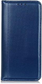 MOTO G8 Power lite ケース 手帳型 モトローラ G8 Power lite カバー 財布型【6-10日届く】 PUレザー マグネット吸着 カード収納 スタンド機能 耐衝撃 Ayakumo ブルー -2dz26-