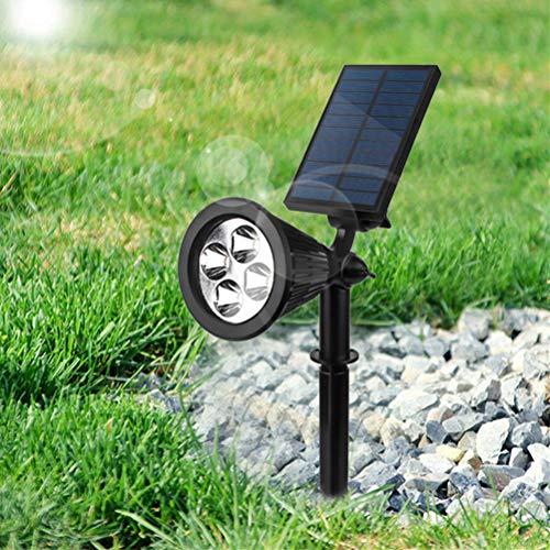 Sarplle Solar Pflanzenlampe LED Vollspektrum Wachstumslampe Gartenstrahler für alle Wachstumsstadien von Pflanzen [Energieklasse A+]