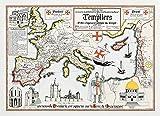 Karte Die Tempelritter von Daniel Derveaux
