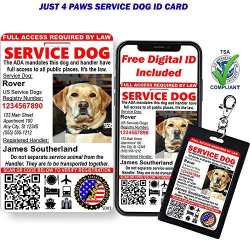 service dog id - 2