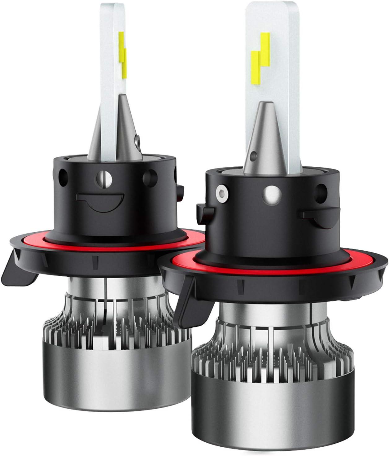 TIANFUYAO H13 New life 9008 LED Headlight Bulbs - 6000K 100W San Diego Mall 12000LM Xeno