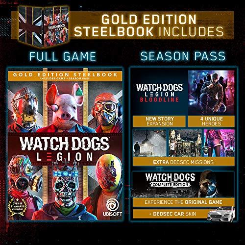 Watch Dogs Legion - Xbox One Gold Steelbook Edition Edition