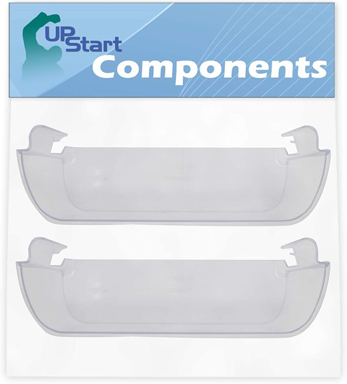 2-Pack 240323002 Refrigerator High material Clear Door Save money for Fri Replacement Bin