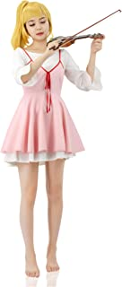 C-ZOFEK Miyazono Kaori Cosplay Sweet Girl Pink Dress