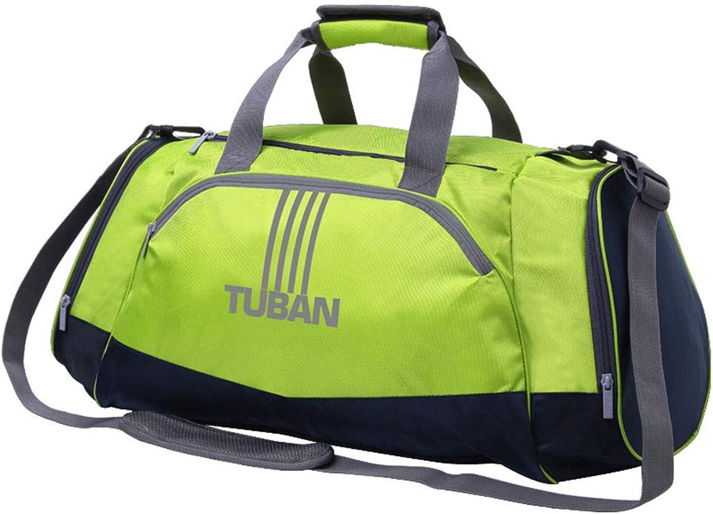 Sports Fitness Bag Shoulder Hand Dry Wet Separation Bag Side Pocket shoes Warehouse Waterproof Polyester Bag