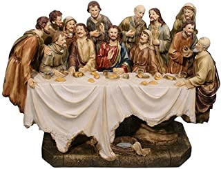 Hi-Line Gift Ltd 81837 Last Supper Decorative Statue, 185-Inch