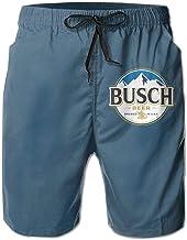 Jkhguygytftruyhrt Busch Light Busch Latte Beer 3D Print Men's Men Shorts Quick Dry Men Shorts