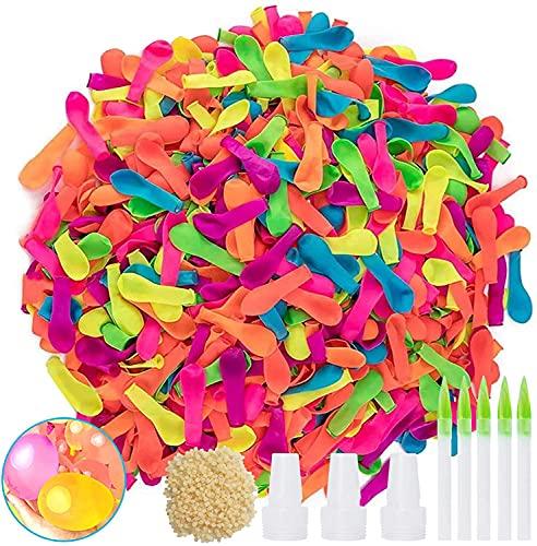 1000 Stück Wasserbomben,Wassergefüllter Ball,Wassergefüllter interaktiver Gummi Big Ball,Wasser-Bomben,Wasserblase Ball, Amazing Bubble Ball,Wassergefüllte interaktive Ball,Wasserballons