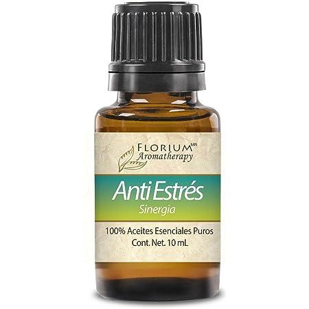 Anti Estrés - Mezcla Concentrada de Aceites Esenciales de Aromaterapia Florium - 10 ml