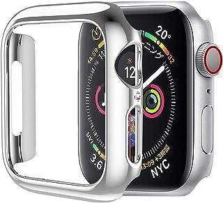 HOCO for Apple Watch Series 5/4 ケース アップルウォッチ カバー 40mm メッキ PC素材 軽量超簿 耐衝撃性 シルバー