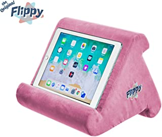 Flippy Multi-Angle Soft Pillow Lap Stand for iPads, Tablets, eReaders, Smartphones,..