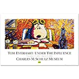 "Tom Everhart ""Last Supper"" PEANUTS Fine Art Poster"