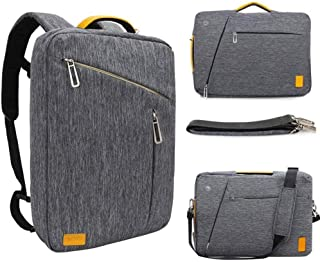 WIWU 15.6 Inch Laptop Convertible Backpack, Multi Functional Travel Rucksack Water Resistant Knapsack Work School College Backpacks for men and women, Business Backpack fit 15.6 laptops