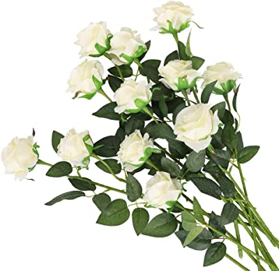 200 Artificial Rose Leaves Joblot Wholesale Fake Foliage Craft Leaf Buttonholes