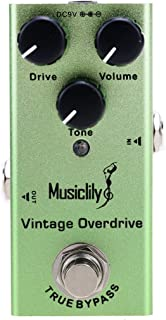 Musiclily Basic Mini Electric Guitar Effects Pedal DC 9V...