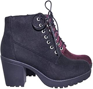 Womens Second Lace Up Ankle Bootie