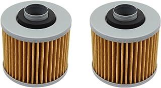 cyleto Ölfilter für Yamaha XVS650V Star 650Custom 1998–2011/XVS 650V Star 650Classic 1998–2010(2Stück)