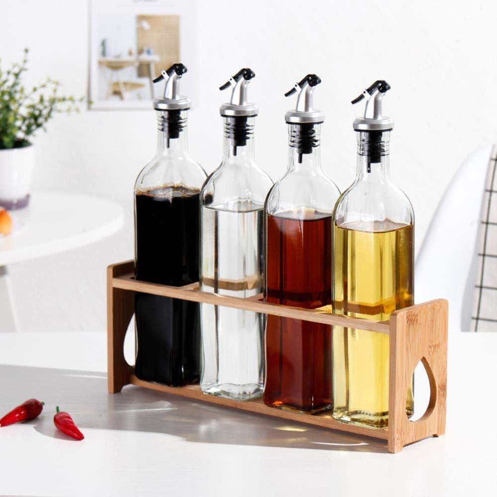 Flavoring Oil Bottle Package, Leakproof Glass Oil and Vinegar