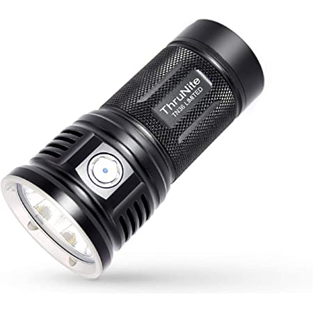 ThruNite TN36 Limited Version 11000 Lumen CREE XHP 70B LED Powerful Floody Flashlight, with ThruNite Batteries Included Neutral White (NW)