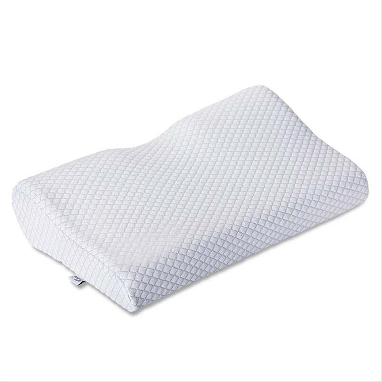GxNI Cervical Contour Pillow  highest quality memory foam, comfort neck with adjustable padNatural magnet health pillow, white