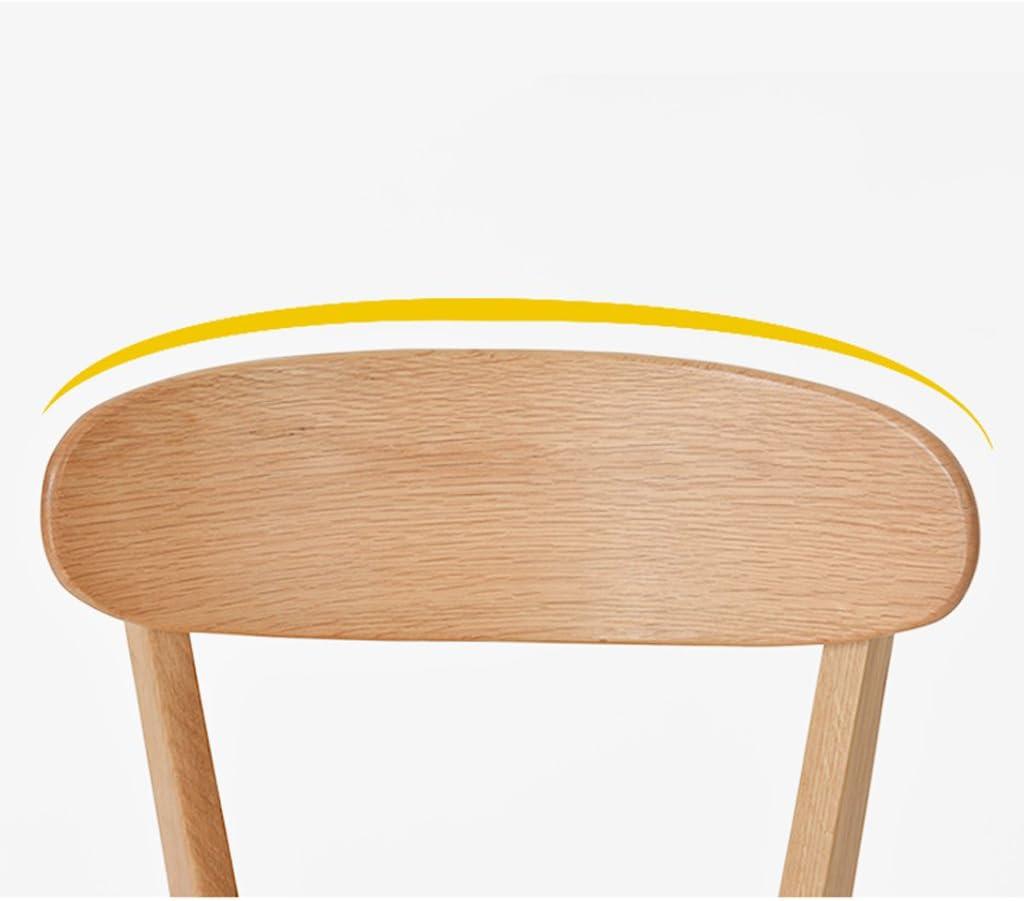 Président WGZ- Chaise de Restaurant en Bois Massif Chaise de Restaurant Chaise de Loisirs Chaise d'ordinateur Moderne Simple (Color : B) B