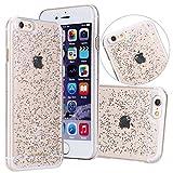 Venusau Glitter PC Phone Case for iPhone 6 Plus / 6s Plus (Silver)