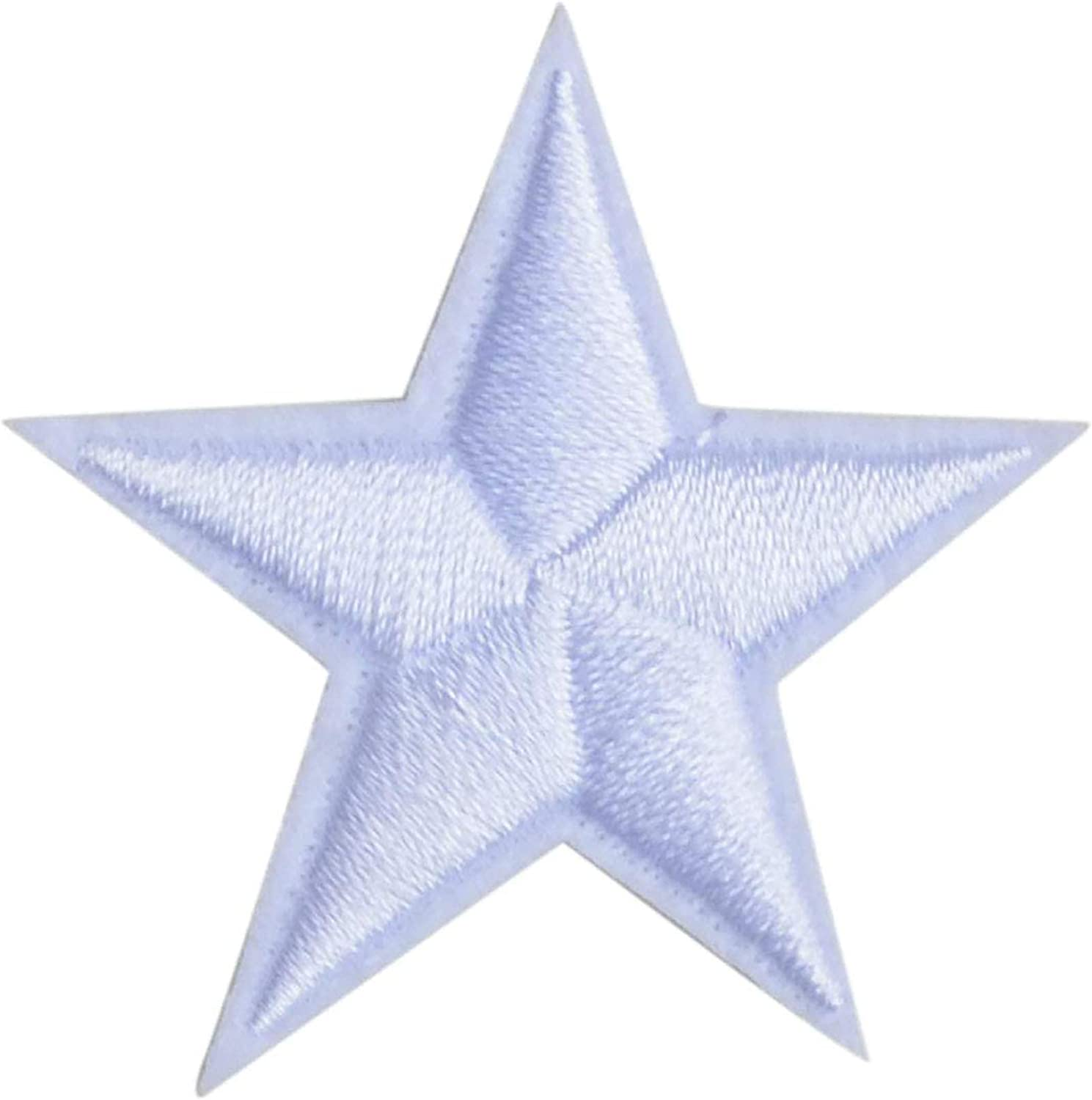 Clothes Decoration Sew on Stars Patches Badge Stickers Iron-On Patch Applique