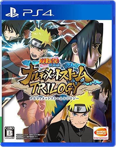 Naruto: Ultimate Ninja Storm Trilogy / Naruto Ultimate Ninja Storm Legacy - Standard Edition [PS4] import japon [video game]