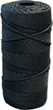 Lee Fisher Size 18 1 lb Braided Twine Black 950 Ft 115 Test
