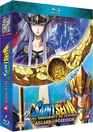 Saint Seiya-Les Chevaliers du Zodiaque : Asgard/Poséidon-Épisodes 74 à 114 [Blu-Ray]