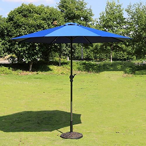LY88 Parasols Markt Patio Outdoor Paraplu Tuin Gazon Tafel Zonnekap IJzeren Paal Paraplu UV Beschermend 270cm*250cm
