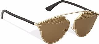 New Christian Dior SO REAL STUDS RHL/5V A gold black/light brown Sunglasses