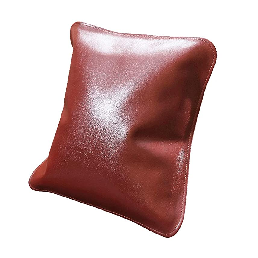 役に立たないファブリックサーマルQYSZYG 枕革のクッション柔らかい家の枕革のソファ高級な腰椎のソフトで快適な まくら