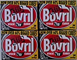 Acciones Bovril Cubes - 4 x 12 paquetes