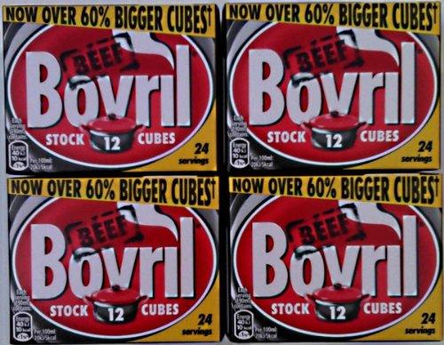 Bovril Stocks Cubes - 4 x 12 pack