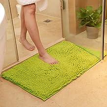 vctops Plush Chenille Bath Rugs Extra Soft and Absorbent Microfiber Shag Rug, Non-Slip Runner Carpet for Tub Bathroom Show...