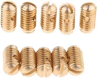 KMDSM 10 أجزاء ساكسفون المسمار لقطع الغيار Alto Tenor Soprano Sax Sax