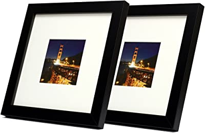 Pack of 5 Black Instagram Square Picture Photo Mounts//Photo Frames Various Size