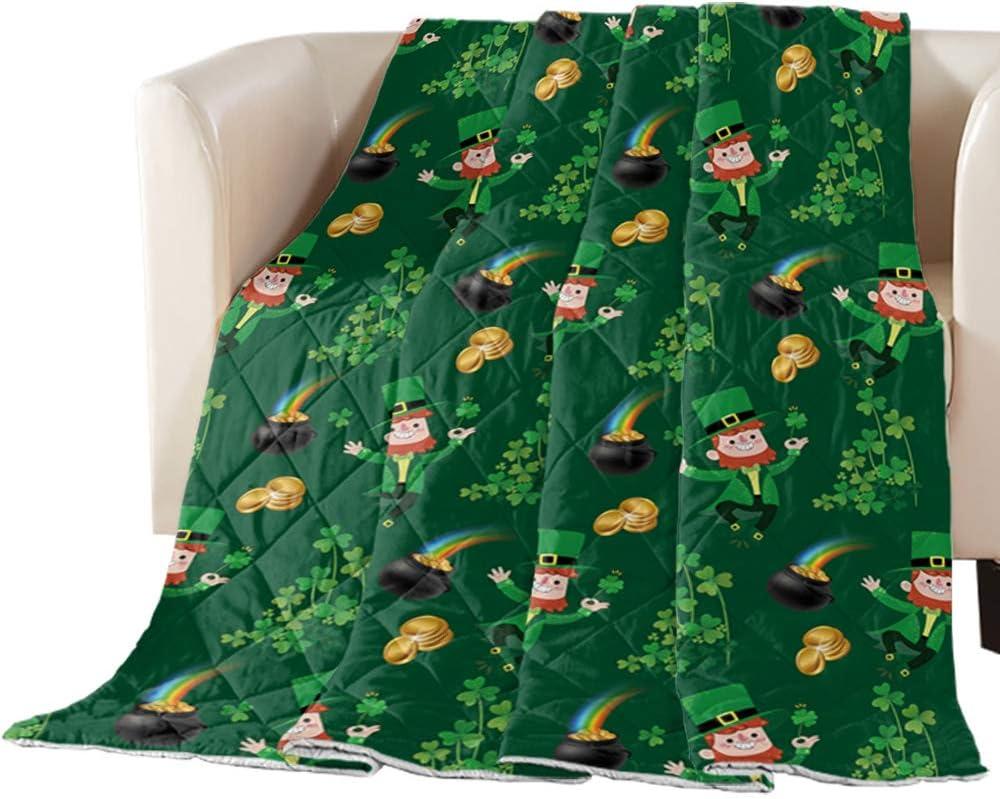 Comforter Duvet Insert Home Quilt Shamrocks Credence St. Lucky Patrick's Ranking TOP1