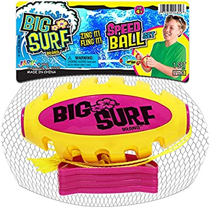 Speed Shuttle Pull Ball Upper Body Workout for Kids and Adults JA-RU Zoom Sliding Ball Outdoor Games Zip Beach 1 Unit Assorted Pool Water Games Party Favor Toys 4802-1A