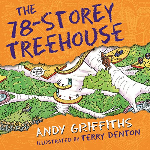 The 78-Storey Treehouse audiobook cover art