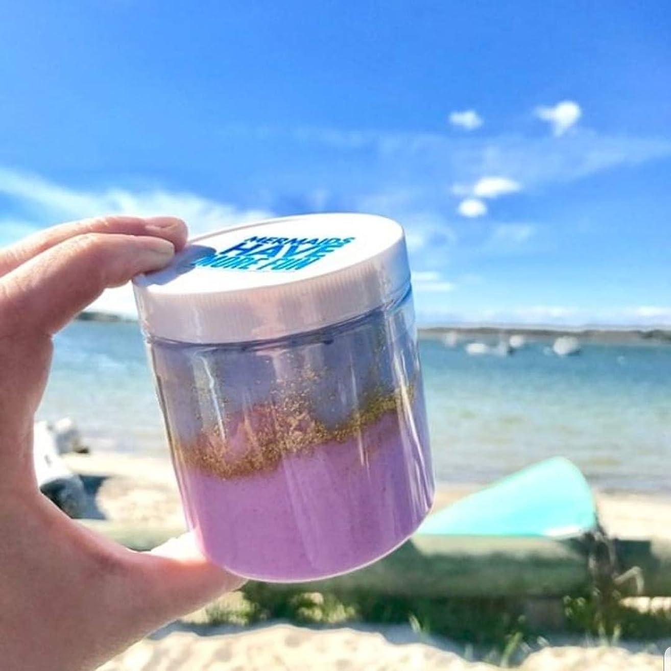 Mermaid Sugar Scrub Exfoliating Body Soap. Mermaid birthday gift for Summer
