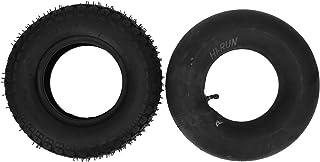 Äldres elektriska skoter däck, uppblåst starkt grepp 4,10/3,50-6 däck för gräsklippare för vagnar för skottkärror