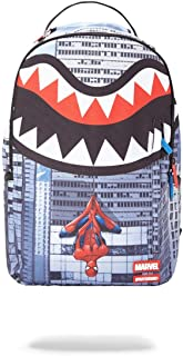 SPRAYGROUND Backpack Spiderman Upside Down Shark